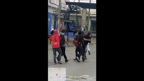 Protestors in Colombia Chased and Lynched an Off-Duty Cop Who'd Fired on Them