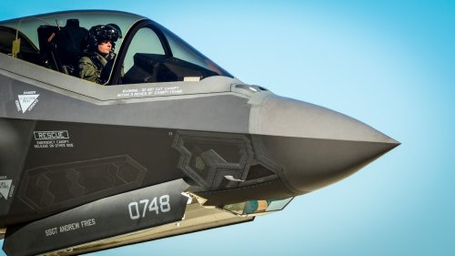 One of America's $135.8 Million Fighter Jets Shot Itself