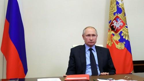 Vladimir Putin Seems Really Rattled