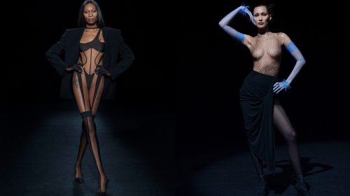 Mugler shakes up the fashion system for SS21