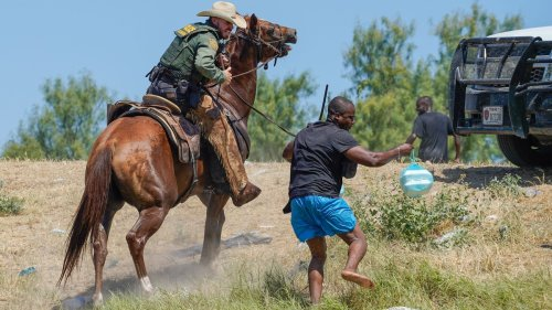 What Black People Saw When Border Patrol Whipped Haitians on Horseback