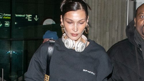 Why Is Bella Hadid Wearing Elon Musk's Merch?
