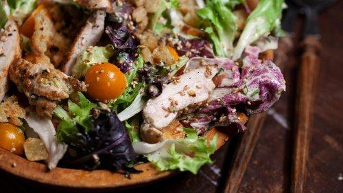 Charred Tahini Chicken Salad