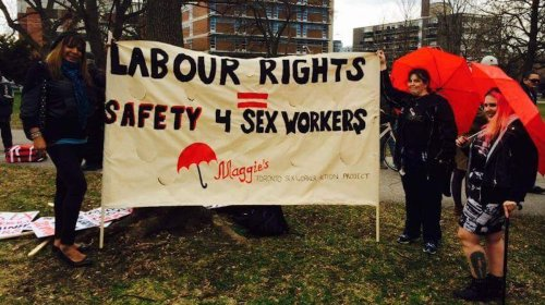 A Sex Worker Group Unionized for the First Time in Canada
