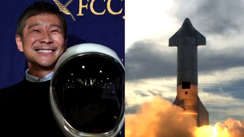 This Japanese Billionaire Wants to Take You to the Moon in Elon Musk's Spacecraft