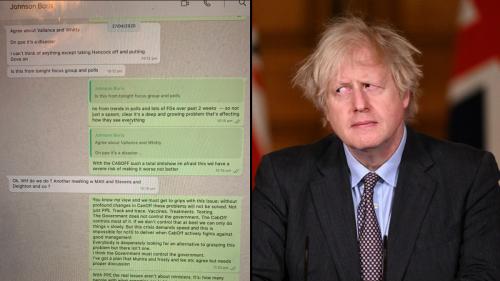 'WTF Do We Do?': Read Boris Johnson's Wild Leaked COVID WhatsApps