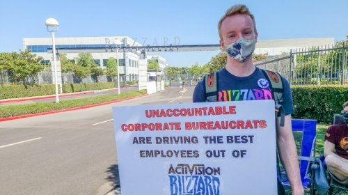 Activision Blizzard Employees Are Walking Out in Protest of Work Conditions