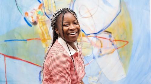 Jadé Fadojutimi is London's rising art prodigy