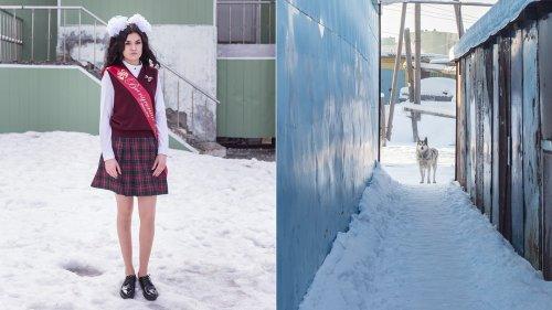 Fotos de una remota ciudad rusa donde el invierno dura nueve meses