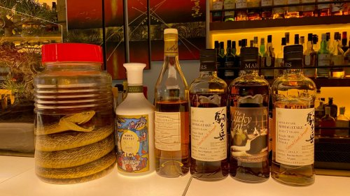 That Japanese Whisky You're Drinking? Yeah, Not Japanese.