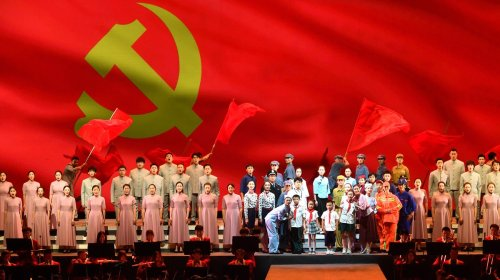 100 Chinese Rappers Team up For Patriotic Track Praising Communist Party