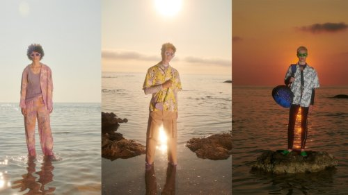 MSGM serves up beach rave chic for SS22