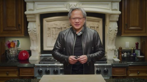 Nvidia Reveals Its CEO Was Computer Generated in Keynote Speech