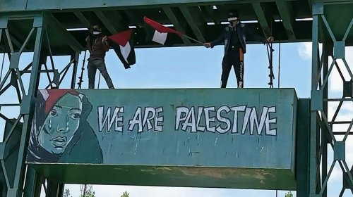 This Graffiti Artist Was Arrested For His Viral 'We Are Palestine' Mural