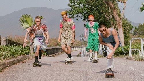 Roni Ahn captures the bond between four young Hong Kong skaters