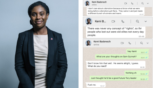 'I Don't Care About Colonialism': Read UK Equalities Minister's Leaked WhatsApps