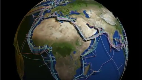 This 3D Map of the Undersea Cables Connecting the Globe is Mesmerizing