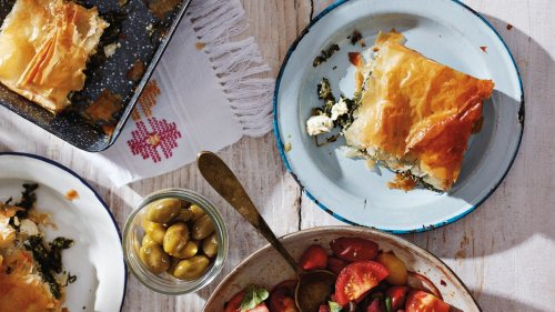 Spanakopita (Spinach, Herb, and Feta Pie) Recipe