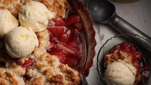 Strawberry Shortcake Cobbler Recipe