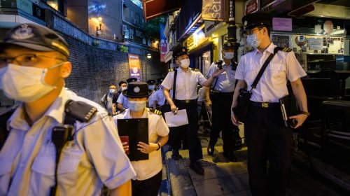 Top Cop Busted in Hong Kong Massage Parlor Raid