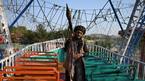 Look at These Photos of Taliban Fighters Enjoying a Day at the Fairground
