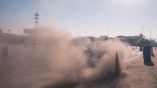 Fotos vertiginosas del mundo del 'drifting' libanés
