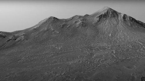 Embarquez pour une promenade virtuelle de 33 minutes sur Mars