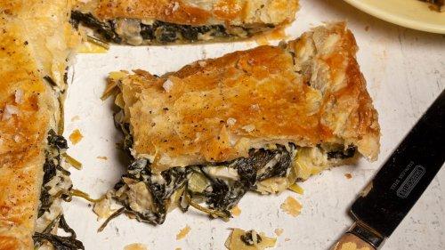 Spinach and Artichoke Slab Pie Recipe