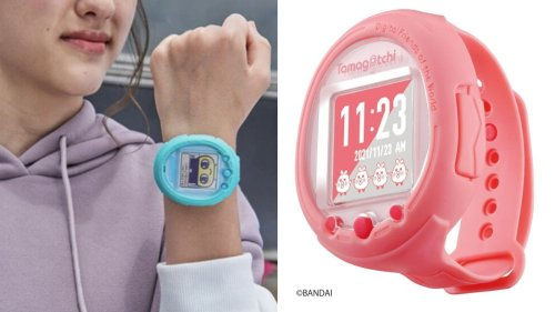 The New Tamagotchi Lets You Touch, Tickle, and Talk to Your Pet