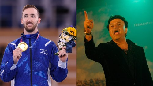 An Israeli Gymnast Won Gold at the Olympics. Then, a Bollywood Composer Started Trending.