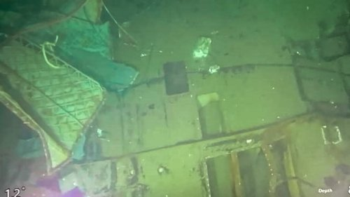 Chilling Photos of the Submarine That Broke Into Pieces and Took 53 Lives