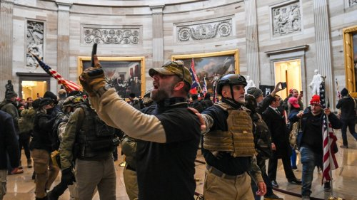 How Normal People Deployed Facial Recognition on Capitol Hill Protesters