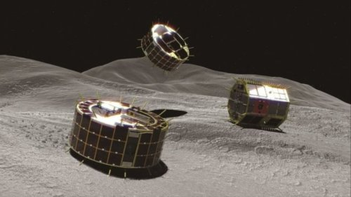 Japan Just Became the First Country to Deploy Rovers on an Asteroid