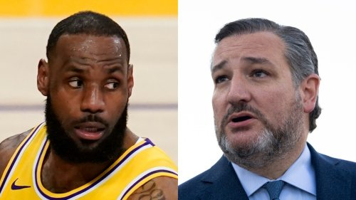 Ted Cruz Is Desperately Trying to Dunk on LeBron James