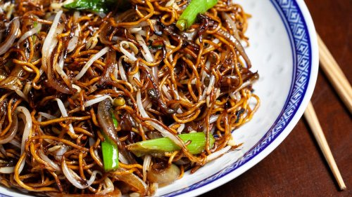Cantonese Soy Sauce Pan-Fried Noodles Recipe