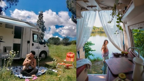 La réalité de la vie à bord d'un van