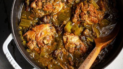 Celery and Date Chicken Stew Recipe
