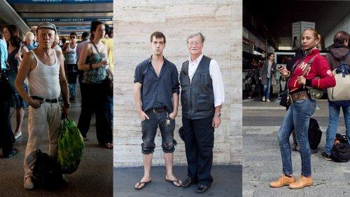 Im größten Bahnhof Italiens finden sich die obskursten Menschen