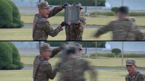 Des soldats nord-coréens cassent des briques avec la tête pour impressionner Kim Jong Un