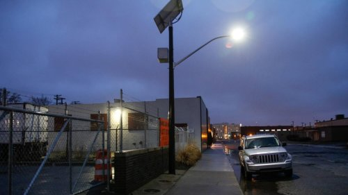 This Off-Grid Project Is Bringing Streetlights Back to Detroit