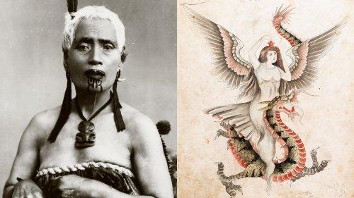 Fotos antiguas de una de las colecciones de tatuajes más grandes del mundo
