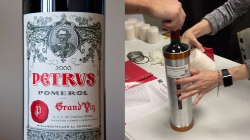 What Does a $6000 Bottle of Wine Taste Like After a Year In Space?
