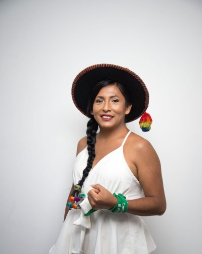 What we can all learn from Indigenous trans Peruvian congressional candidate Gahela Cari - LGBTQ Victory Institute