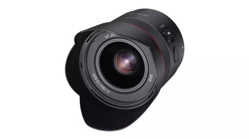 Rokinon's new 24mm lens has a helpful astro-photo mode