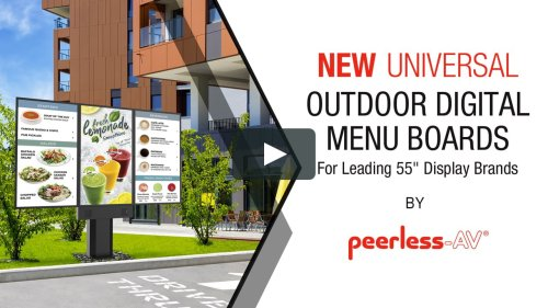 Outdoor Digital Menu Boards Product Overview