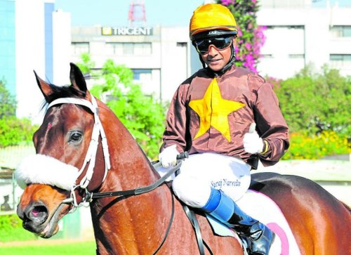 Bengaluru jockey becomes only the 2nd Indian to the mark