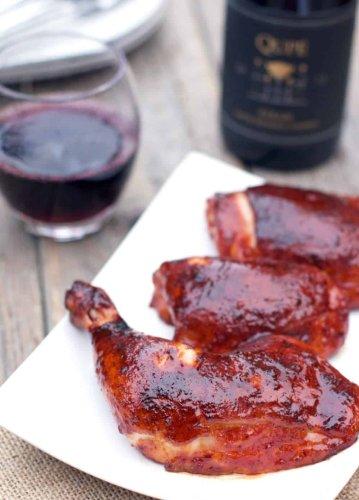 Glazed BBQ Chicken