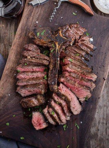 Grilled Porterhouse Steak – Reverse Seared