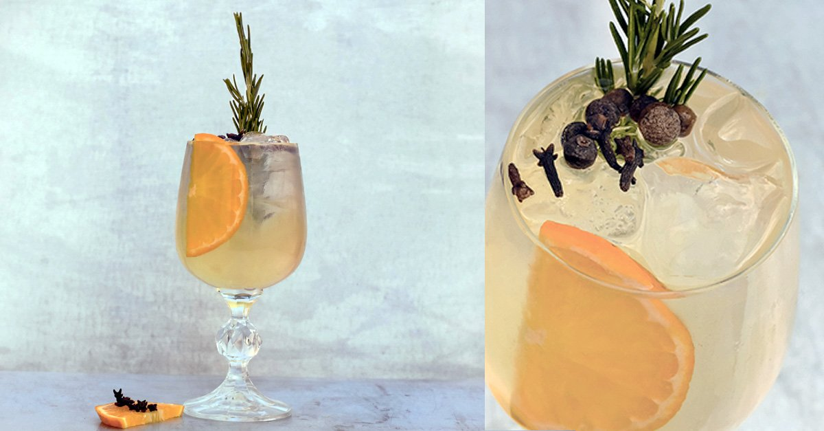 Winter Gin & Tonic Recipe