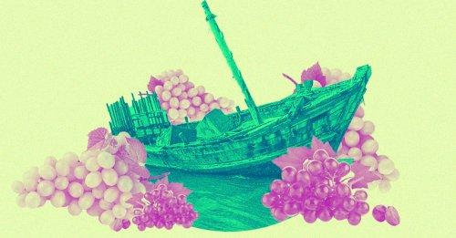 Wine Amphorae Laden Roman Shipwreck Discovered Off Sicilian Coast